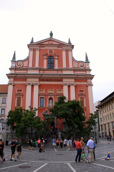 Ljubljana, Slovenia - August 2014