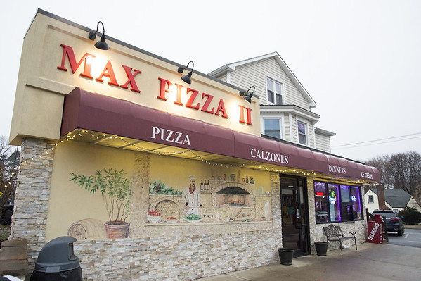 Wesley Bunnell | Staff Max Pizza II, at 79 Shuttle Meadow Ave., is proud of its fresh, locally sourced ingredients.