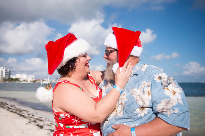 Shelly + Pat - The Santa Couple - Grand Oasis