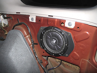 2002 Nissan Xterra Rear Speaker Installation - USA
