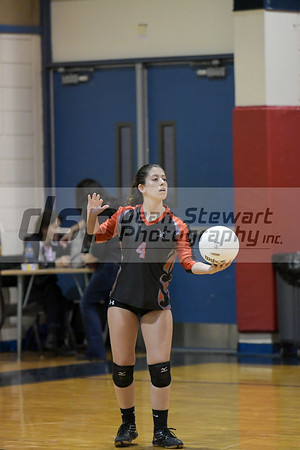 JV Volleyball 10-8-19