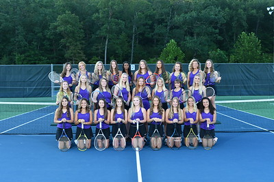 CHS Girls Tennis Team and Individual 2019-2020