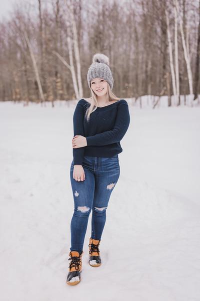 Delaney winter shoot