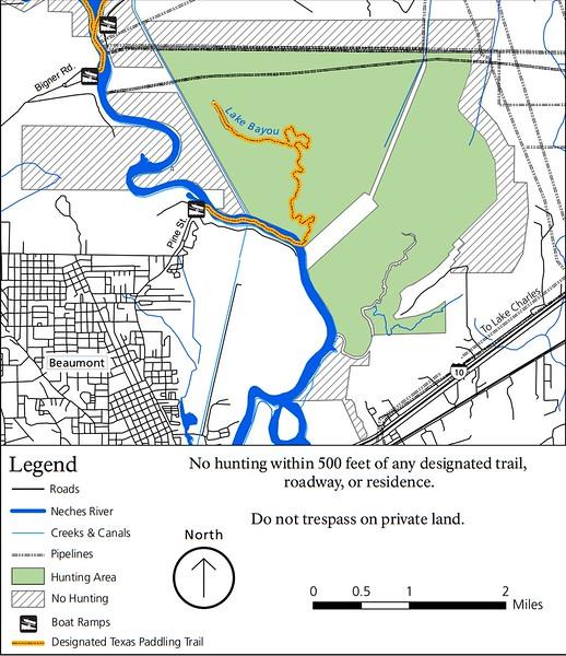 Big Thicket National Preserve (Hunting Areas - Lake Bayou Unit)