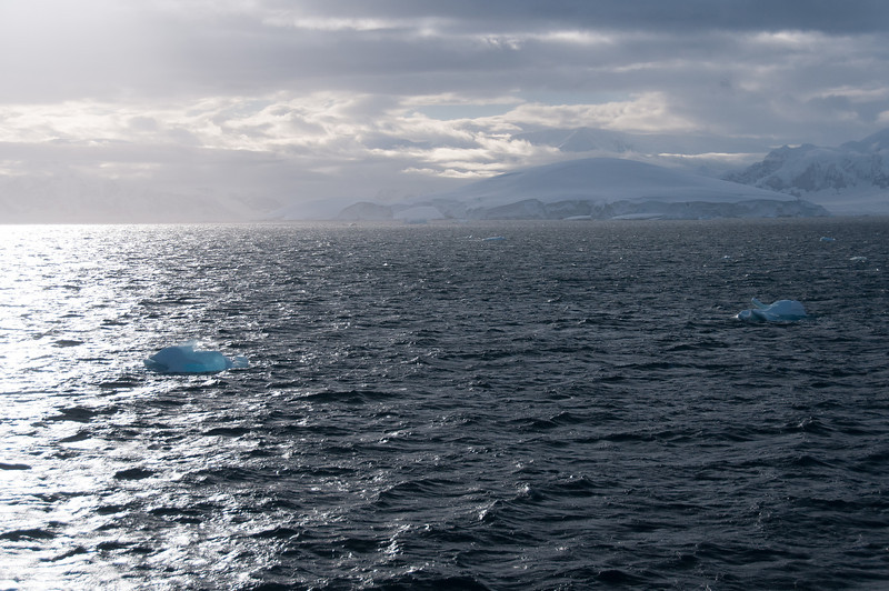 Open sea at Lemaire Channel, Antarctica
