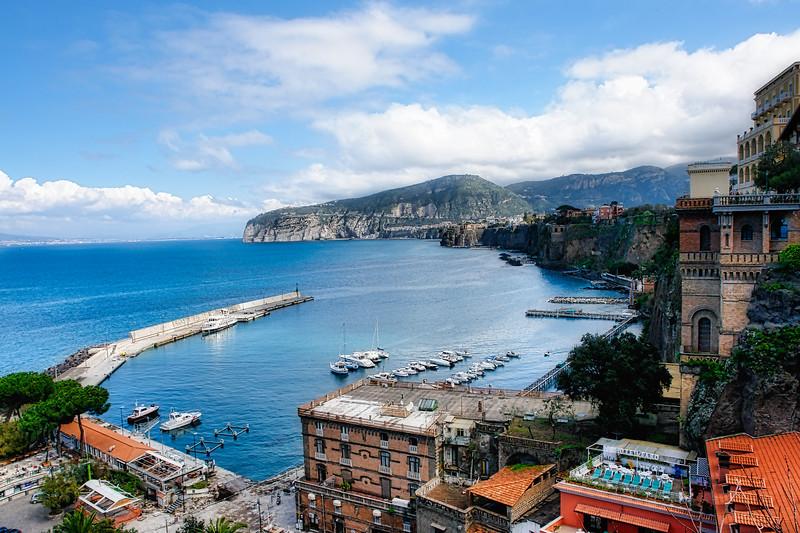 View from Sorrento of Coastline