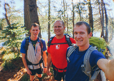 Backpacking Run to Azalea Lake - Oct 4, 2013