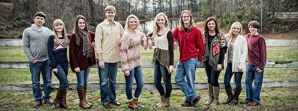 Hopkins Family Grand kids 26 Dec 2014