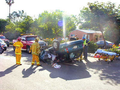 Single Vehicle Roll Over w/Extrication  10/24/10
