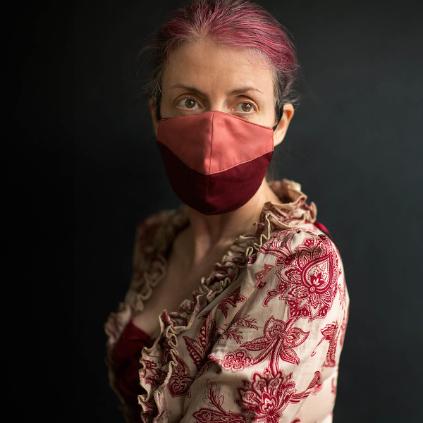 The purpose of a mask is to match ones dress – Self Portrait copyright Sam Breach 2019.jpg