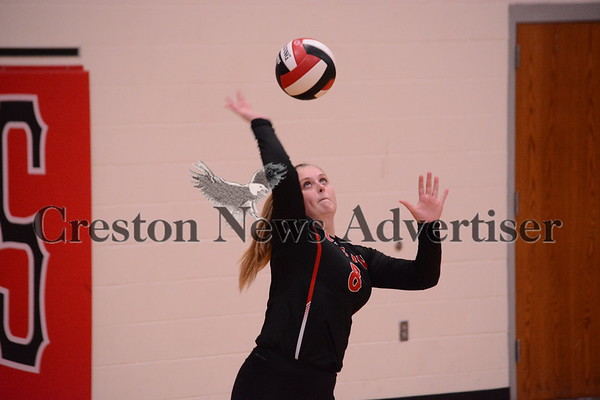 10-3 Creston-Shenandoah volleyball