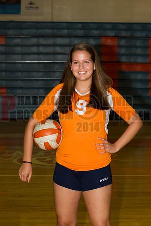 Girls JV Volleyball #9 - 2014