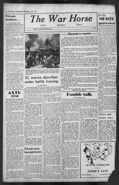 The Trojan, Vol. 35, No. 74, January 19, 1944