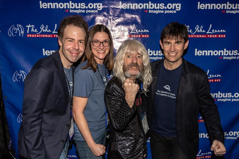 2019_01_26, Anaheim, CA, Derek Smalls, Imagine Party, Jen Soule, Larry O'Connor, NAMM, OWC, Rick Van Dyne