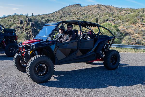 First Ride 01-25-2020 Bumblebbe AZ Cabins and Hill climbs