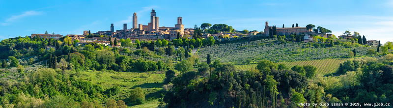 View of the San Gimignano