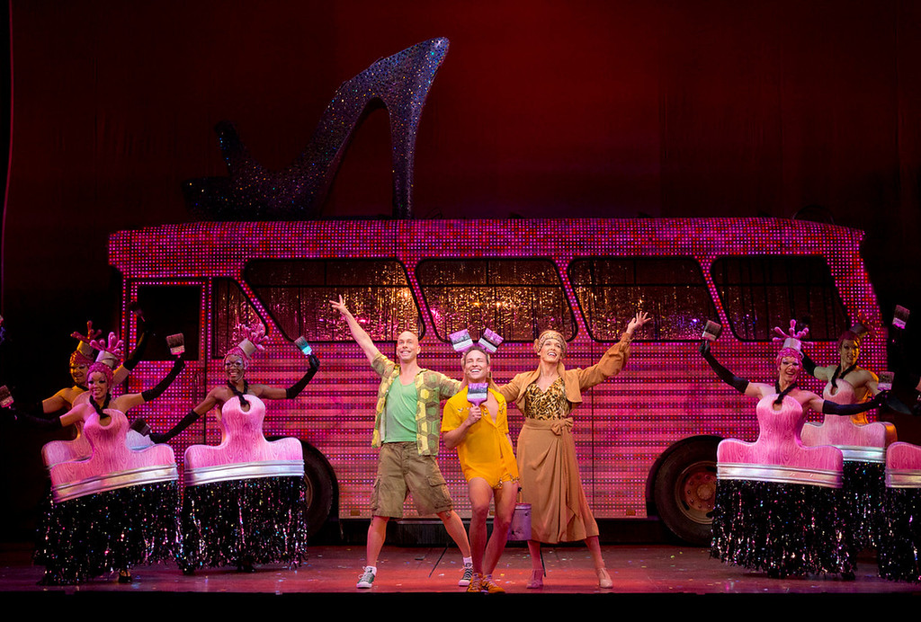 """. \""""Priscilla Queen of the Desert the Musical\"""" will be at the Buell Theatre Sept. 3-15.  (Photo by Joan Marcus, Provided by Denver Center Attractions)"""