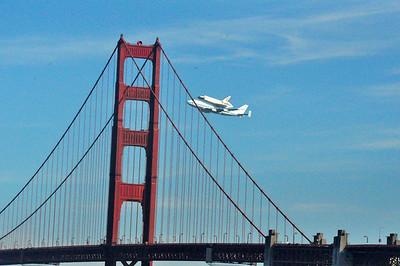 Endeavor San Francisco Flyover 9.21.2012
