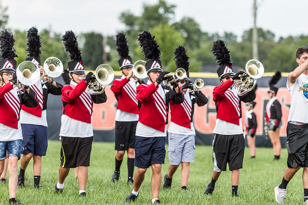 2017 ACHS Band Practice - 08-25