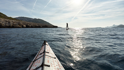 Kayak autour de Callelongue