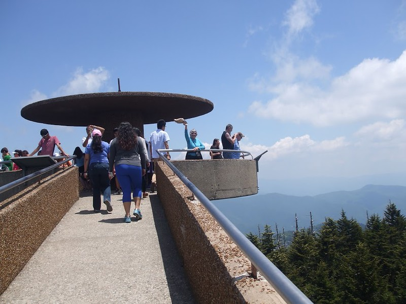 Great Smoky Mountain National Park observation deck