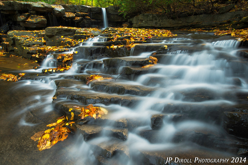 Natures Staircase Ohiopyle Jonathan Run Autumn Waterfall.jpg