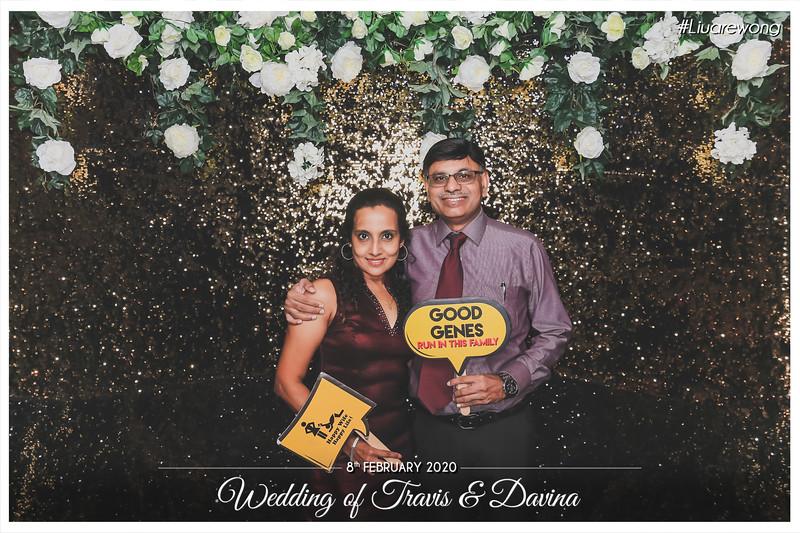Wedding of Travis & Davina   © www.SRSLYPhotobooth.sg