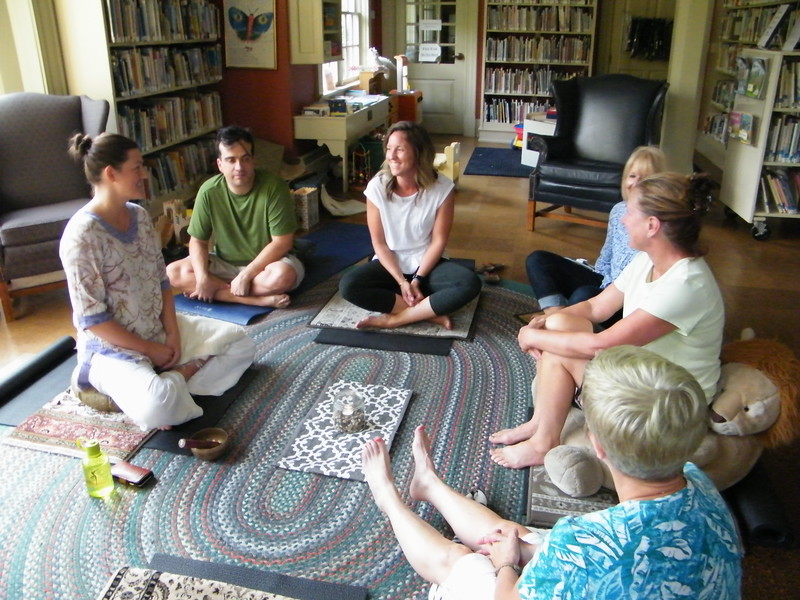 Meditation at library - ET.JPG