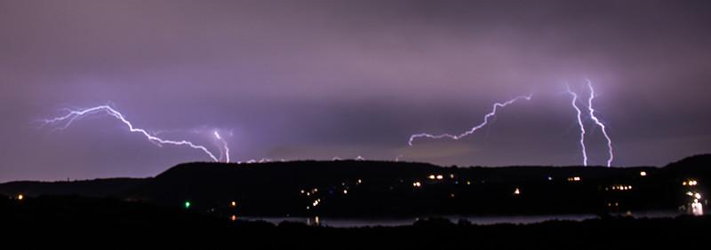 Lightning Over Lake Travis