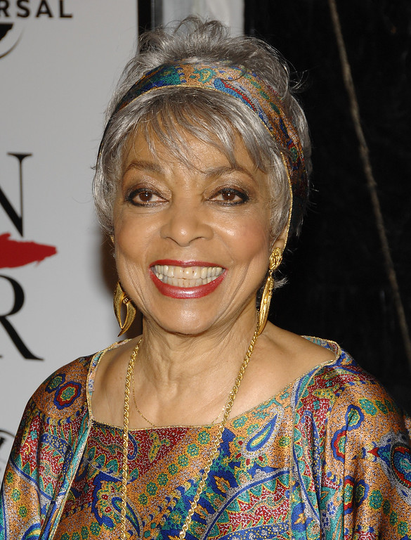 """. Actress Ruby Dee attends the world premiere of \""""American Gangster\"""" at the Apollo Theater, Friday, Oct. 19, 2007 in New York.  (AP Photo/Evan Agostini)"""