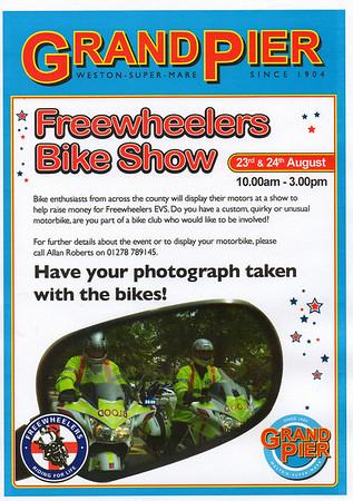 Bikeshow Weston Pier August 2008