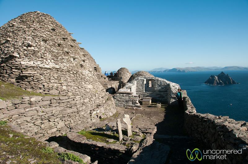 Monastic Settlement at Skellig Michael - Ireland