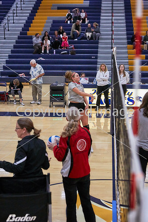 2018-10-01 JFK Volleyball Varsity vs St. Croix Lutheran