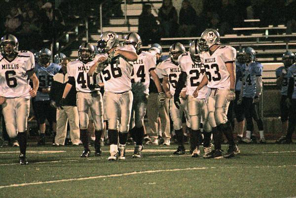 Millis Varsity vs. Medfield Varsity Football