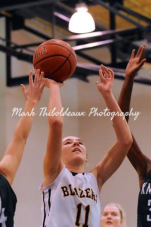 Lancaster Mennonite Girl's Varsity Basketball v. Del Val Christian 1.24.15