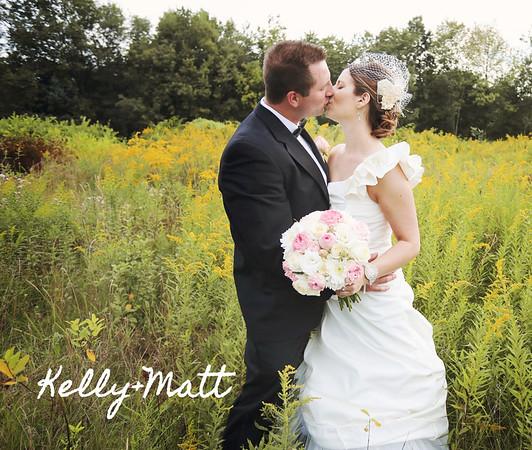 Kelly & Matt 13x11 Wedding Album