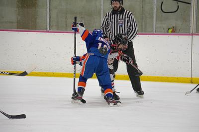 Jr Islanders VS  Mercer ( L 1-8) 2-13-21