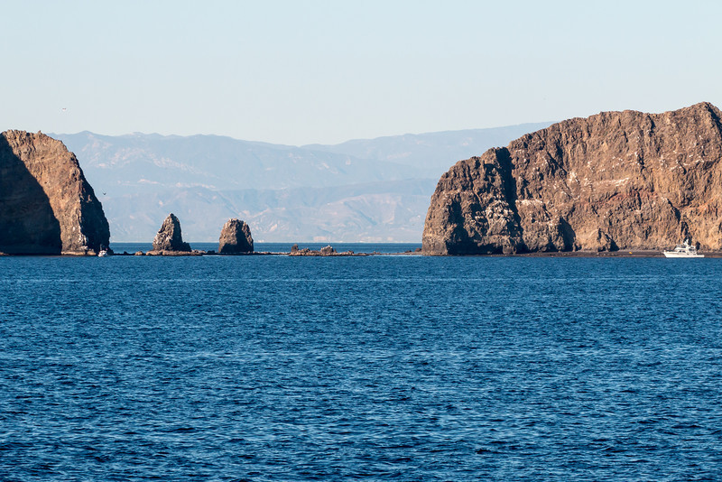 Topa Topas from west of Anacapa