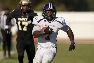 UNA Football vs. UNCP 2013 2nd Round