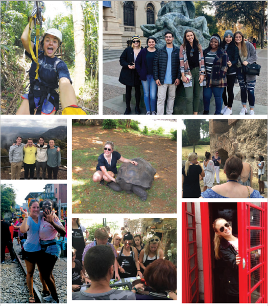GC Students on Study Abroad Programs