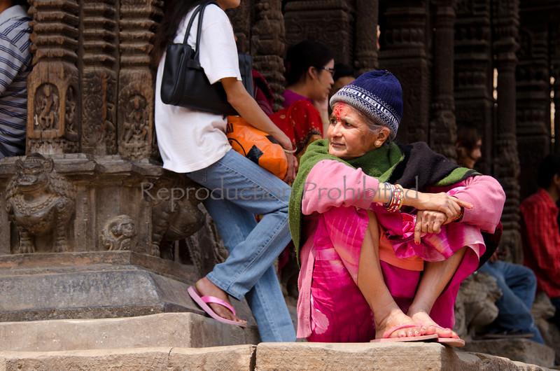 Priestess Patan, Nepal