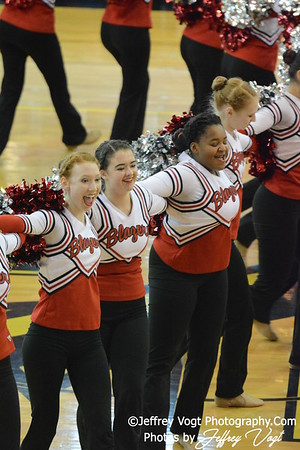 02-01-2014 Montgomery Blair HS Poms at MCPS County Championship Division 3,  Photos by Jeffrey Vogt Photography & Kyle Hall