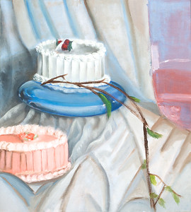 """""""Cakes"""" (oil on canvas) by David Fleshman"""