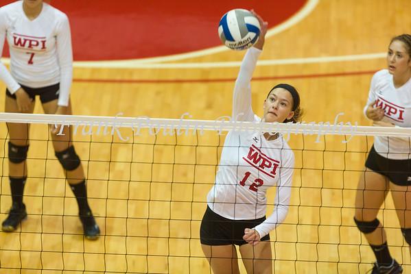 WPI volleyball 9/29/2015