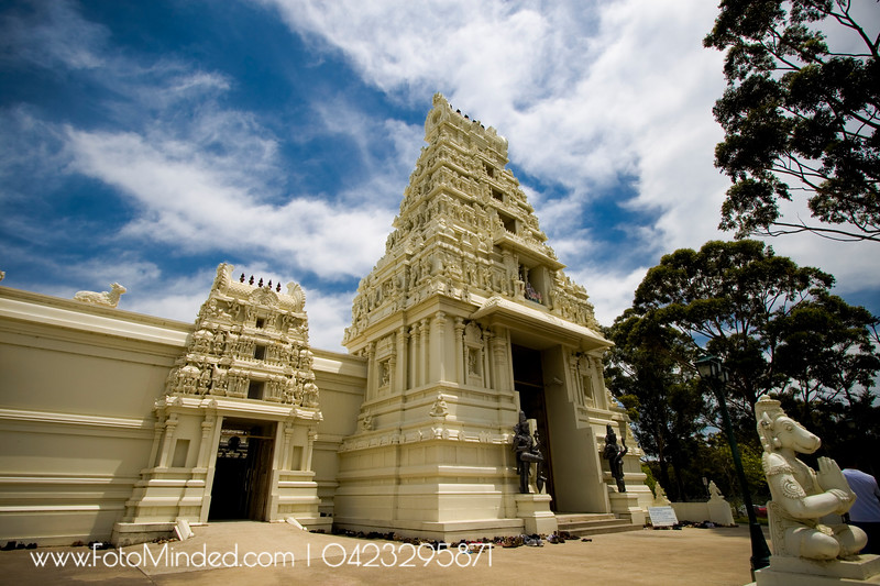Helensburg Perumal Temple Located about 60km away from Sydney, this temple is one of the beautiful and famous temple in NSW, Australia. Many of the Indian families travel all the way to this temple every week to attend various activities such as special pooja, cultural activities, etc.,.