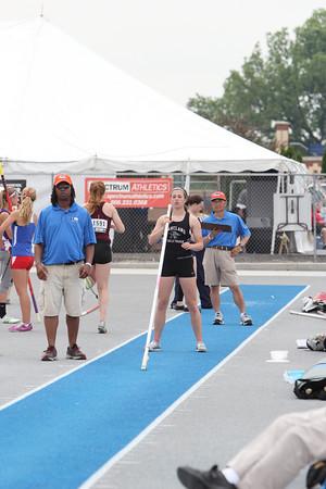 Girls Track @ IHSA State Meet