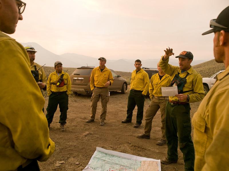 Lodgepole Fire, Salmon-Challis NF, Idaho, 2013