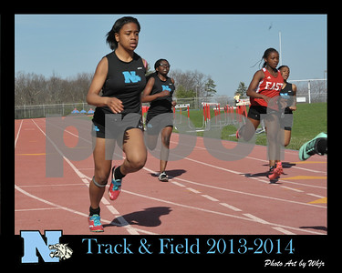 2013 - 2014 Girls Track & Field
