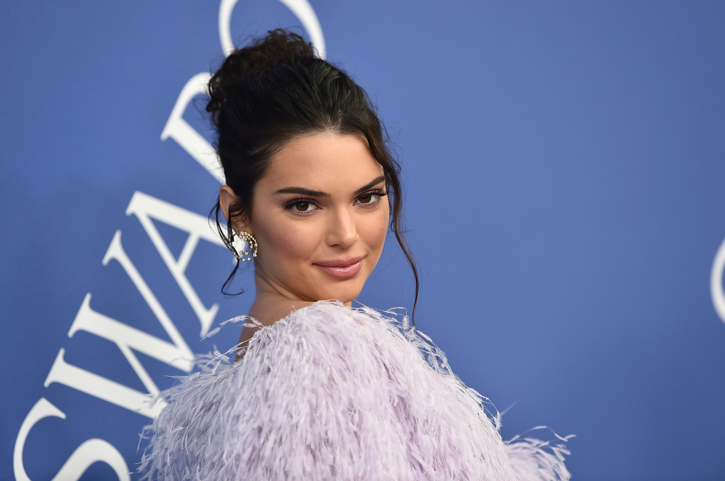 . Kendall Jenner arrives at the CFDA Fashion Awards at the Brooklyn Museum on Monday, June 4, 2018, in New York. (Photo by Evan Agostini/Invision/AP)