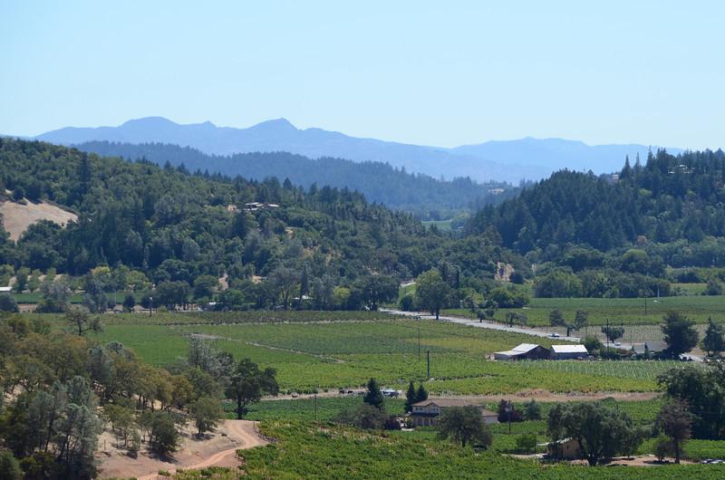 Silverado Trail near Calistoga